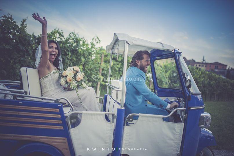 Enrico e Crystal sposi