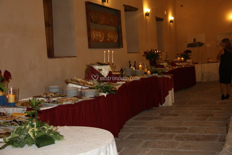 buffet  sala della mangiatoia