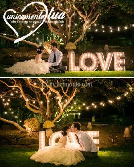 Allestimento Matrimonio Romant