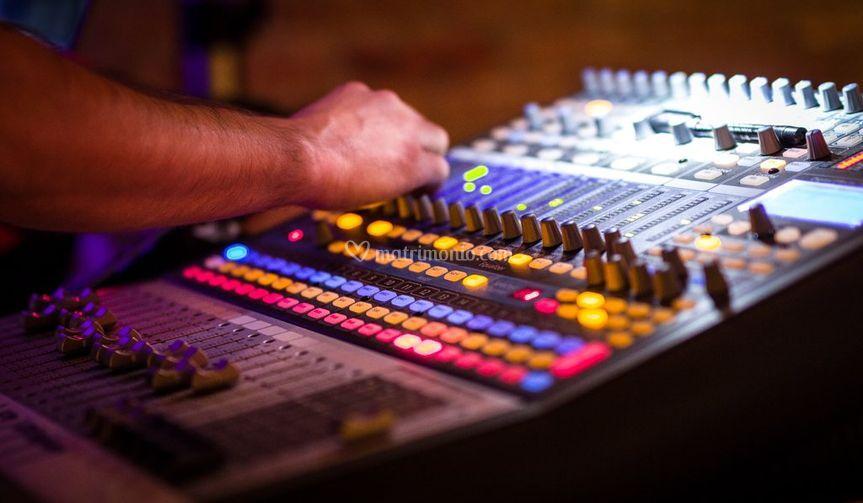 Service audio luci