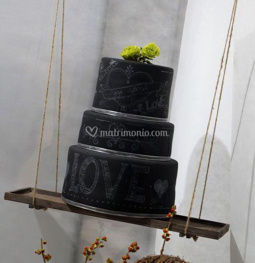 Blackboard Cake