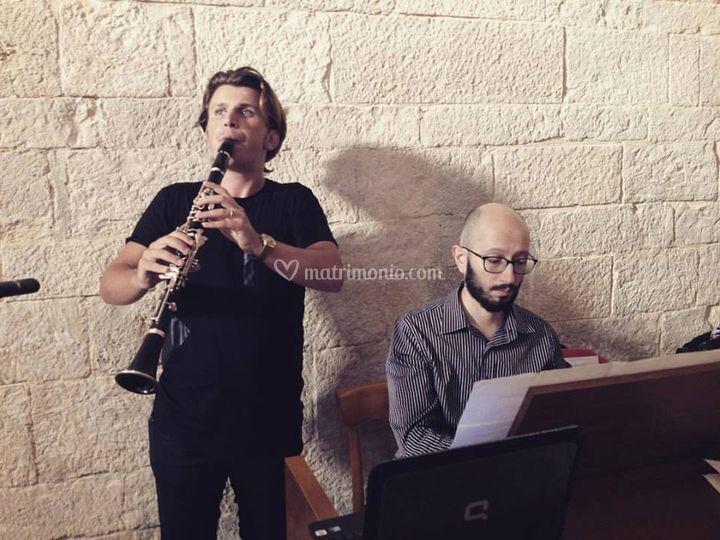 Organo e clarinetto