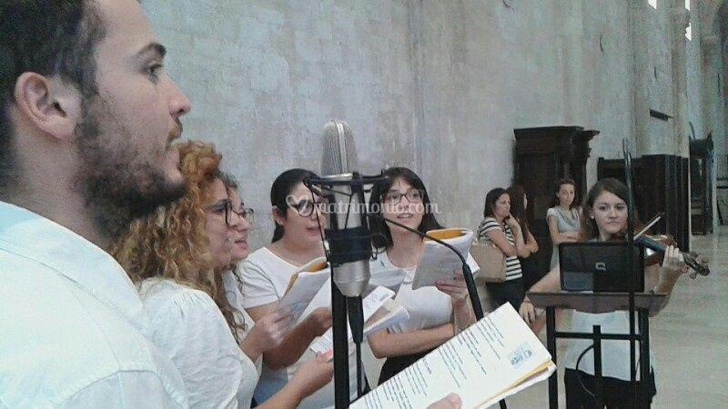 Organo, violino e coro