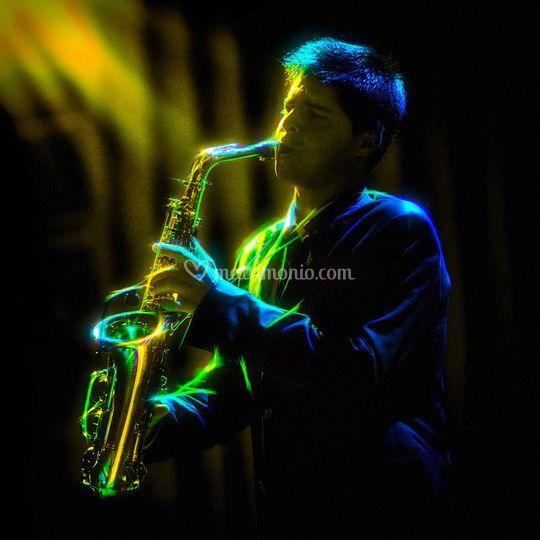 Sassofonista Oreste Monti di Oreste Monti - Sax e Voce
