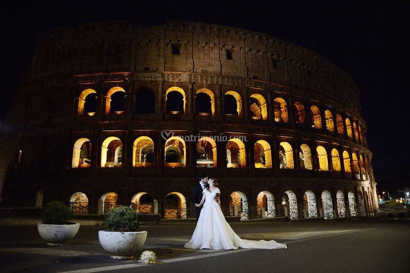 Matrimonio-notturno-Colosseo