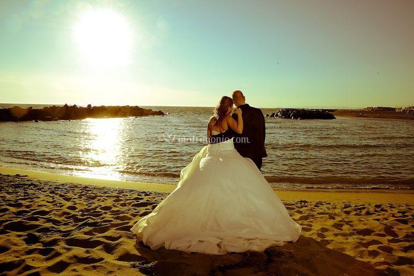 Matrimonio - mare -Roma - Fiumicino