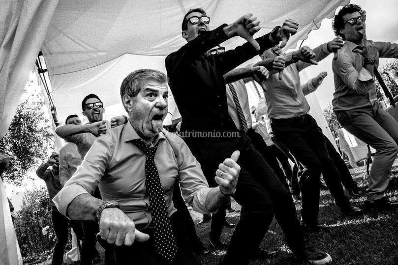 Foto matrimonio ballo invitati