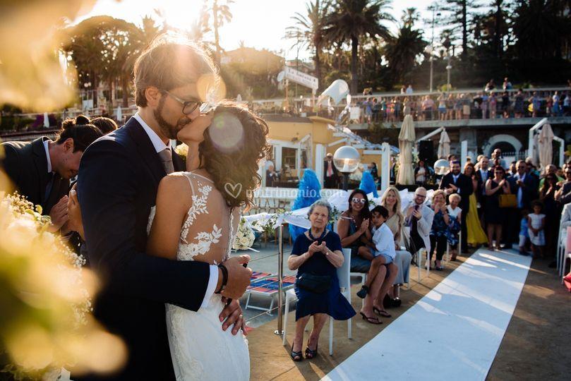 Foto matrimonio spiaggia