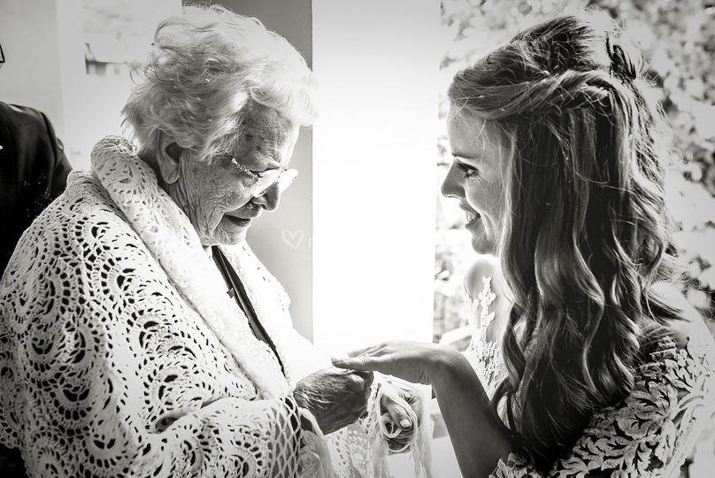 La sposa, la nonna e l'anello.