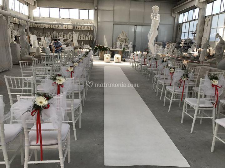 Matrimonio laboratorio marmo