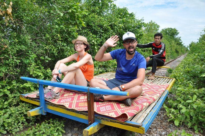Corse divertenti in Cambogia