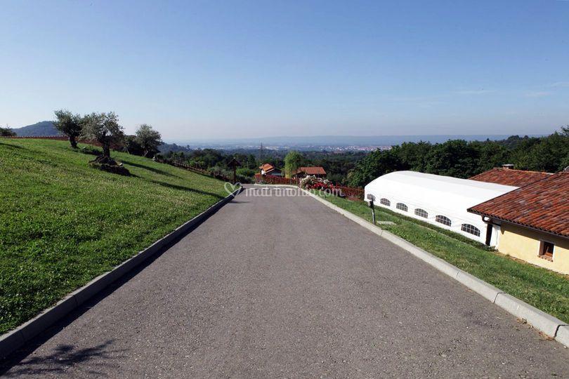 Panoramica Cascina Rovet