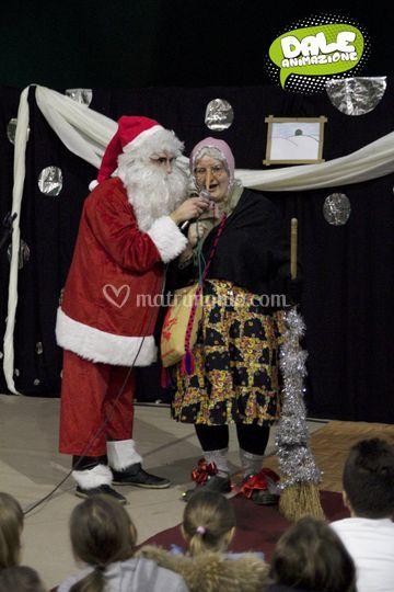 Befana E Babbo Natale.La Befana E Babbo Natale Di Dale Animazione Foto 53