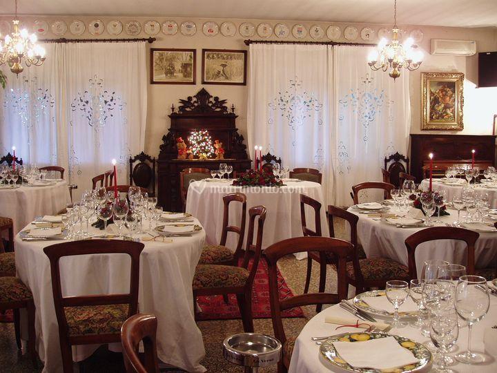 Una sala preparata...a Natale