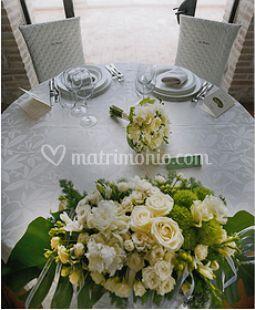 Addobbi tavola nozze