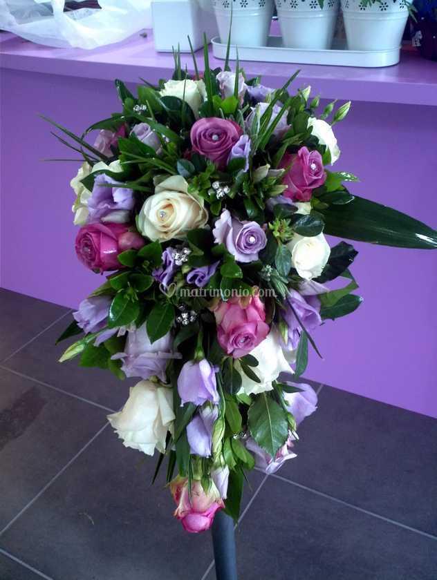 Bouquet Cadente Sposa.Bouquet Cadente Sposa Di Fioridea Foto 10
