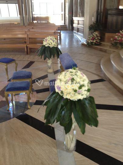 Allestimento chiesa 23 giugno