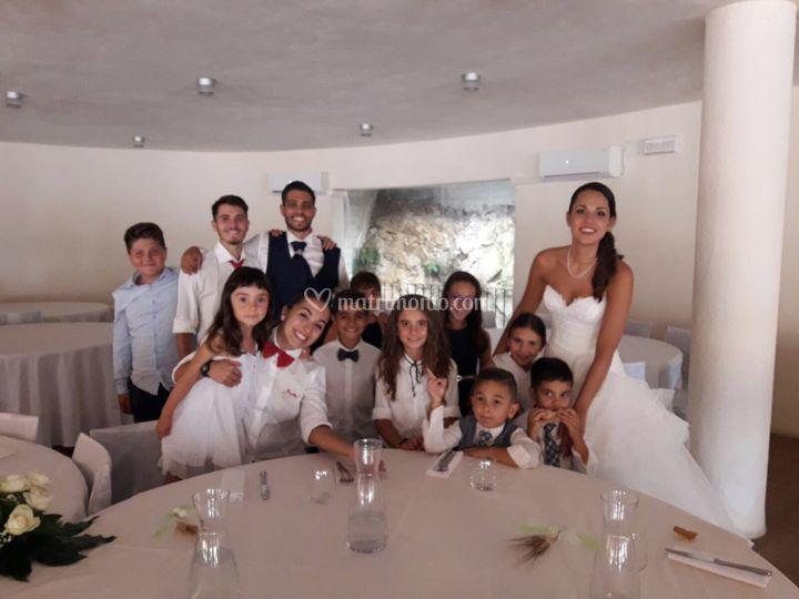 Foto con gli sposi!