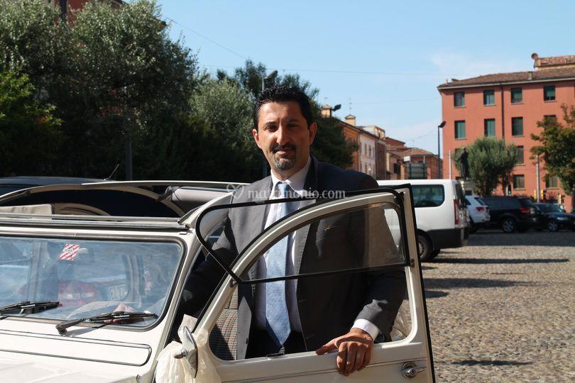 L'autista Luca Arbizzani
