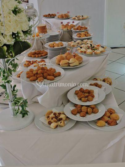 Esempio di buffet