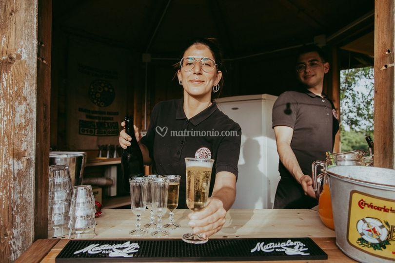 Servizio bar esterno