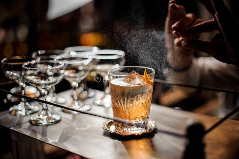 Servizio Distillati e sigari