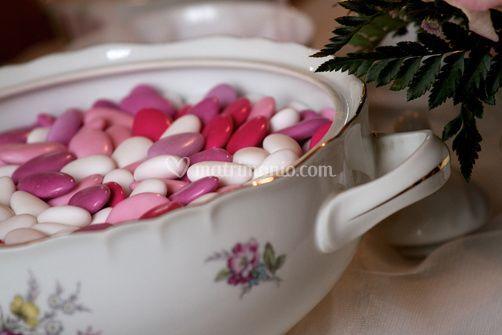 Confettata con ceramiche