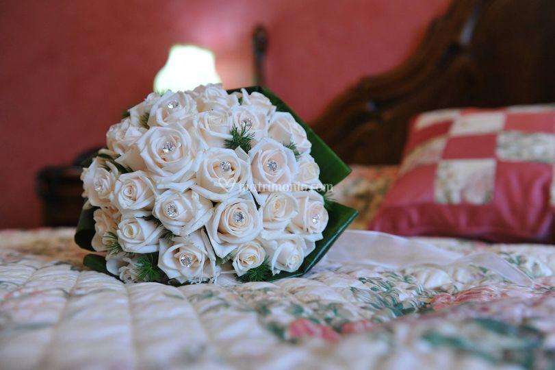 Bouquet da sposa rose