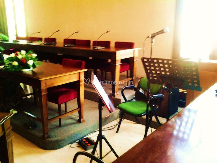Sala consiliare - rito civile