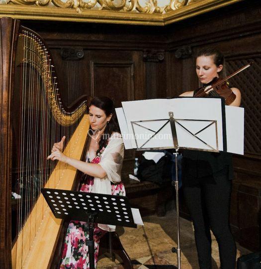 Duo classico arpa e viola