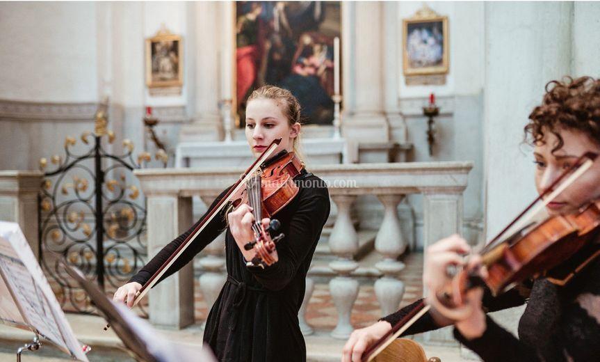 Duo classico viola e violino