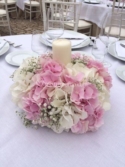 Ortensie Rosa Matrimonio : Lorefice fiori