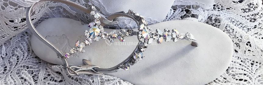 Cavigliera gioiello Aurora