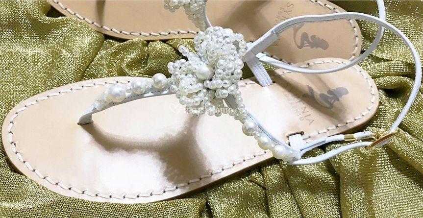 Sandalo Fiore Perle