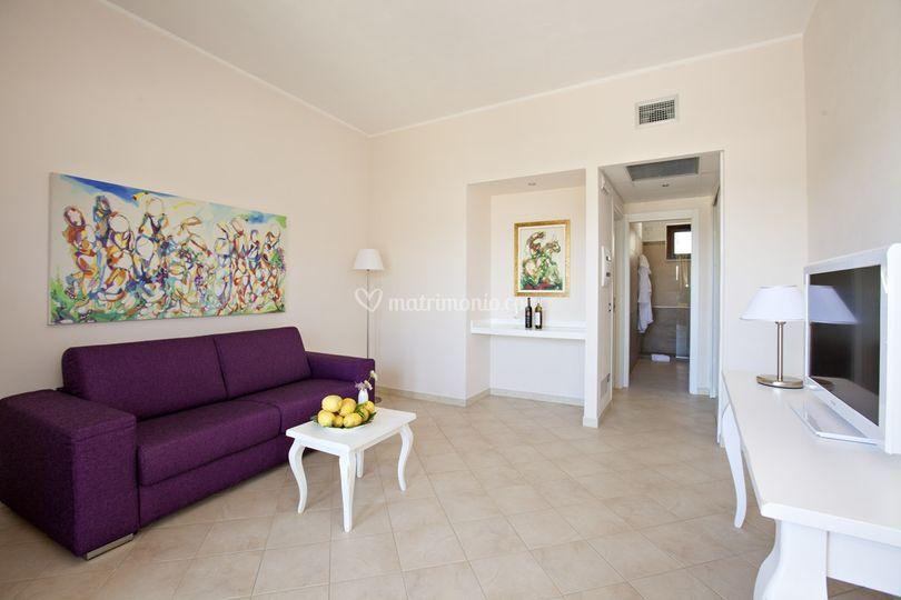Eco resort dei siriti for Camera ospiti e studio