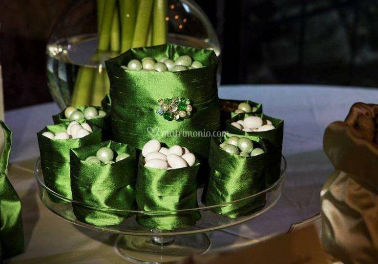 Degustazione shantung verde
