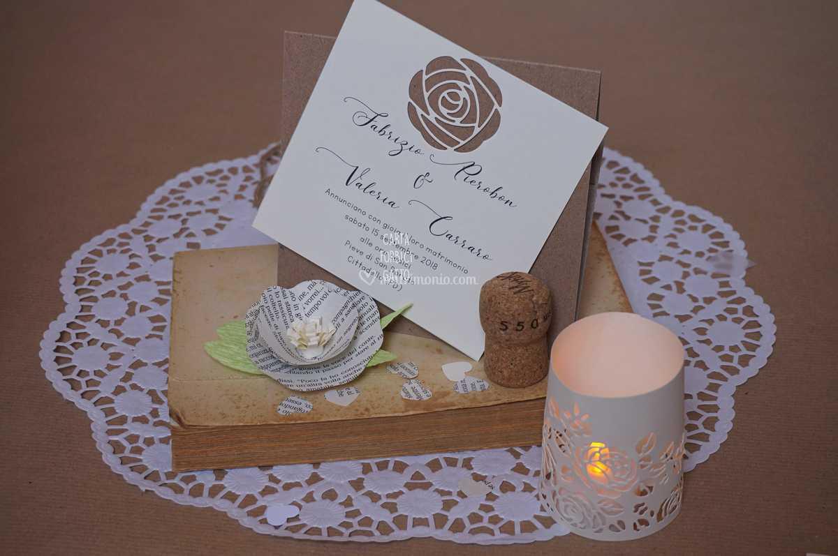 Partecipazioni Matrimonio Gatti.Partecipazioni 2019 Rose Di Carta Forbici Gatto Foto 16