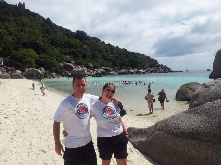Andrea e Giulia Thailandia