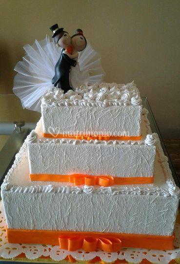 Torta portabuste hand made