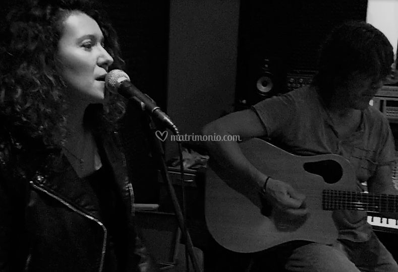 Acoustic duo live
