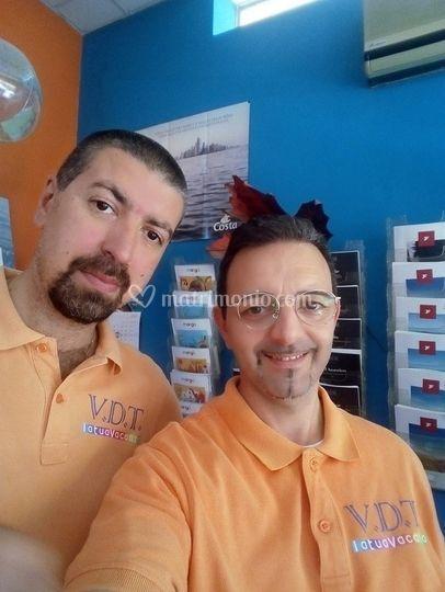 Luigi e Fernando in Agenzia