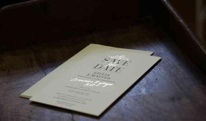 Lamina oro e stampa letterpress