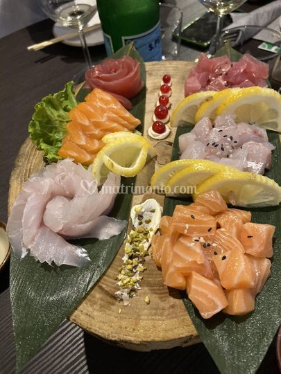 Mix sashimi