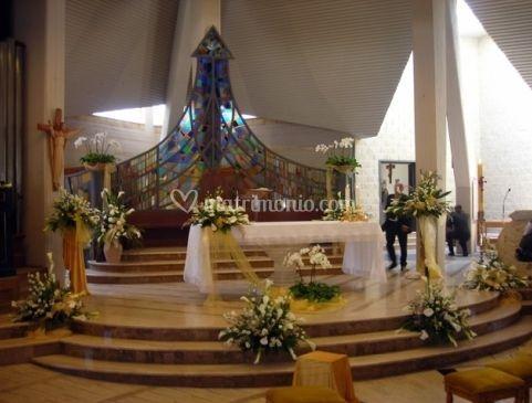 Decorazione per altare