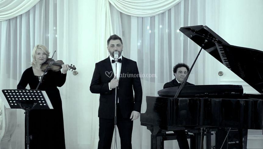 Trio Violino Piano Voce Maschi
