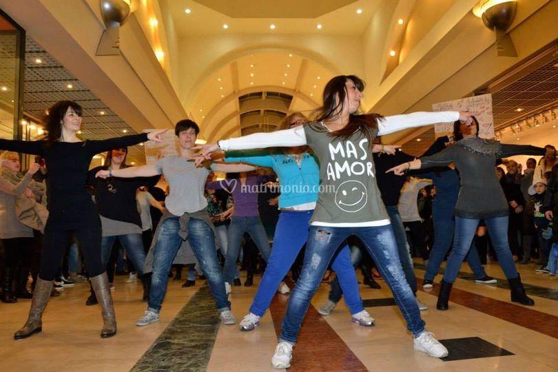 Flash Mob proposta di nozze