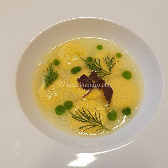 Bottoncino con olio all' aneto