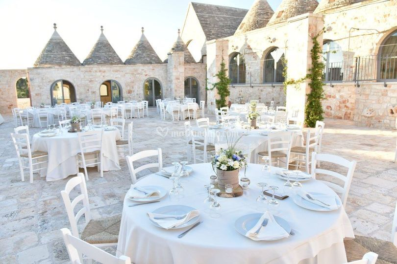 Matrimonio Natalizio Puglia : Masseria grieco