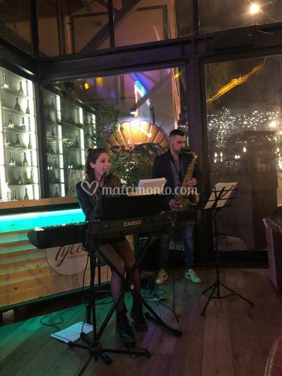 Blue duo Live