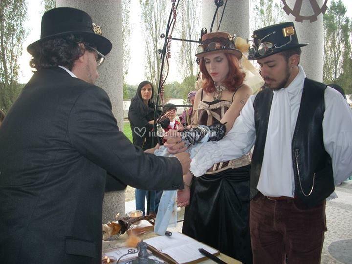 Matrimonio steampunk di Emozioni e Strani Eventi